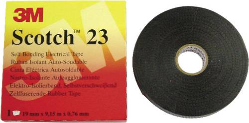 3M Scotch 23 7000007286 Reparaturband Scotch® 23 Schwarz (L x B) 9.15m x 19mm 9.15m von 3M