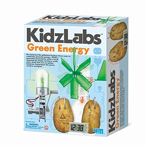 4 m Kidz Labs Green Energy Play Set von 4M