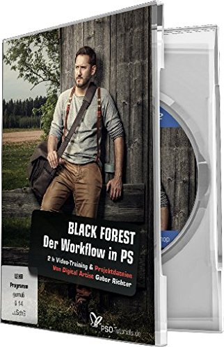 BLACK FOREST - Der Workflow in Photoshop (Win+Mac) von 4eck Media GmbH & Co.KG