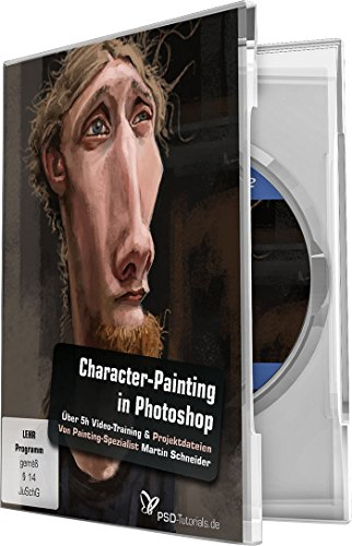 Character-Painting in Photoshop (Windows + Mac) von 4eck Media GmbH & Co.KG