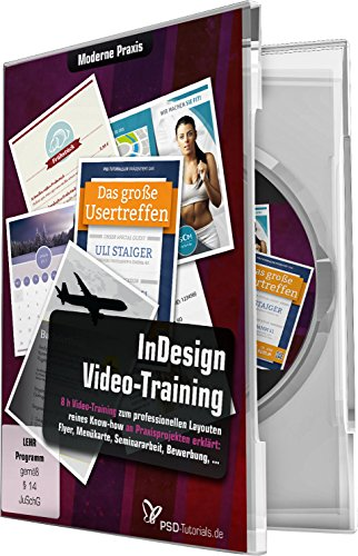 InDesign-Video-Training - Moderne Praxis (Win+Mac+Tablet) von 4eck Media GmbH & Co.KG