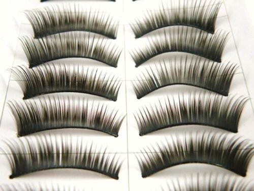 10 Pairs False Fake Eyelashes Extensions 1088 Thick 1088 by 5starwarehouse von 5starwarehouse