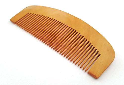5starwarehouse Mens Top Quality Wooden Beard Comb Moustache Handmade Mahogany Pocket Wax Oil UK (Without Handle) by 5starwarehouse von 5starwarehouse