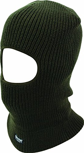 """5starwarehouse Kopfmaske/ Skimaske, mit Gesichtsöffnung, warmes Thinsulate, inklusive Tuch von 5starwarehouse Open Face Balaclava - Olive"" von 5starwarehouse"