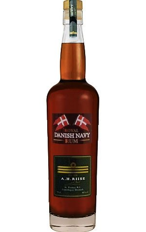 A.H. Riise Royal Danish Navy Rum 40% 0,7 l von A.H. Riise