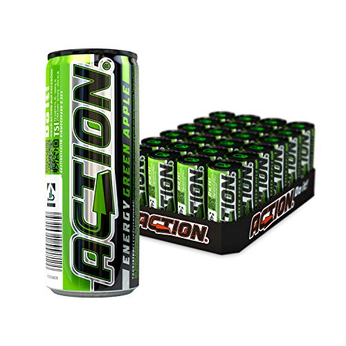 ACT!ON Energy Green Apple EINWEG (24 x 250 ml) von ACT!ON