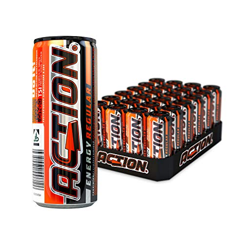 ACTION Energy Regular EINWEG, 24 x 250 ml von ACT!ON