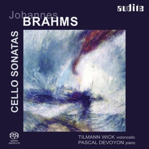 J. Brahms: Cellosonaten Nr. 1& 2 von AUDITE