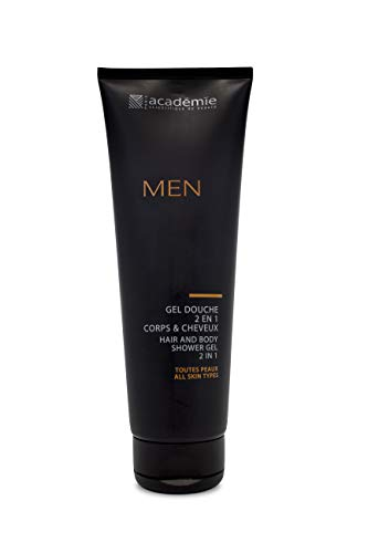 Academie Men homme/men, Hair and Body Shower Gel 2 In 1, 1er Pack (1 x 250 g) von Academie
