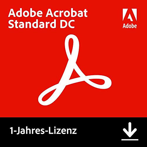 Adobe Acrobat Standard DC | Standard | 1 Jahr | PC | Download von Adobe