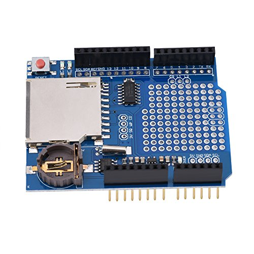 823d6a51bc Akozon Data Logging Shield Datenlogger Acquisition Module Recorder für  Arduino UNO SD-Karte von Akozon