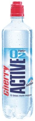 Active O2 fitness,0,75l, Cherry - 8 x 0,75l von Aktive O2