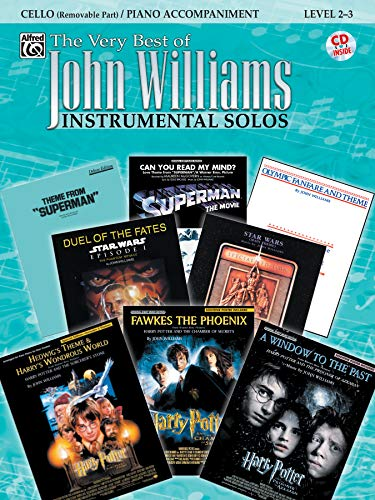 The Very Best of John Williams for Strings: Cello / Piano Accompaniment (incl. CD) von Alfred Music