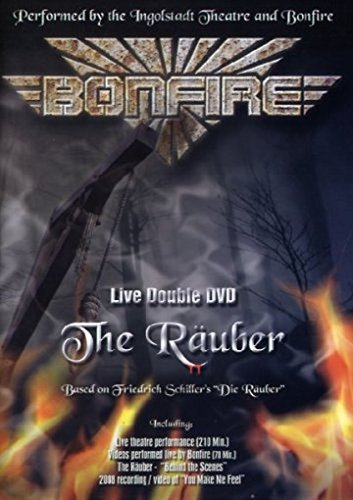 Bonfire - The Räuber Live (2 DVDs) von Bonfire
