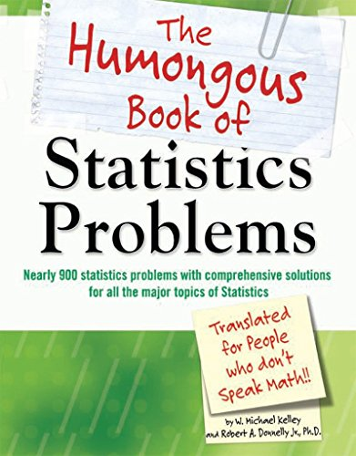 The Humongous Book of Statistics Problems (Humongous Books) von Alpha