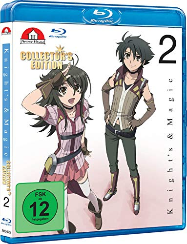 Knight's & Magic - Blu-ray 2 (Limited Collector's Edition) von Anime House (AV Visionen)