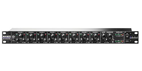 Art MX822 Mixer Stereo A 8 Kanal A Rack von art