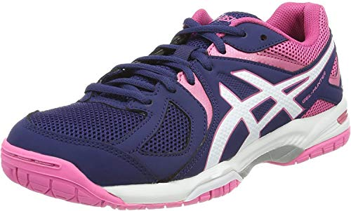 Asics Damen Gel-Hunter 3 Squash & Indoor Court Schuhe, Blau, 43.5 von Asics