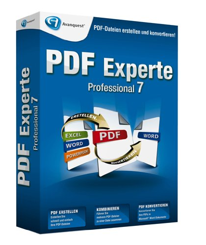 PDF Experte 7 Professional von Avanquest Software