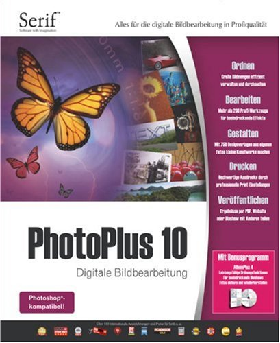 PhotoPlus 10 von Avanquest Software