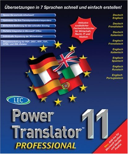Power Translator 11 Professional von Avanquest Software