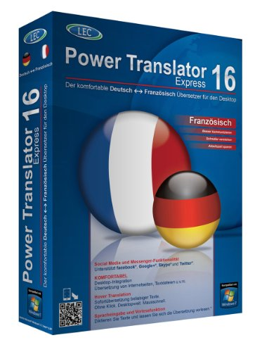 Power Translator 16 Express Deutsch-Französisch von Avanquest Software