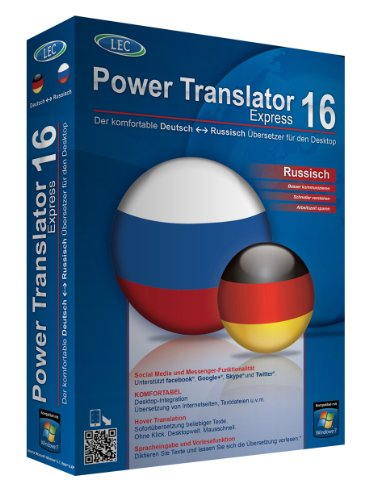 Power Translator 16 Express Deutsch-Russisch von Avanquest Software