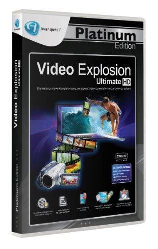 Video Explosion Ultimate - Avanquest Platinum Edition von Avanquest Software