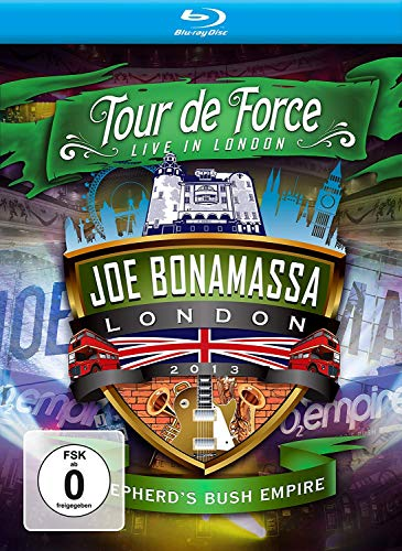 Joe Bonamassa - Tour de Force: Shepherd's Bush Empire/Live in London 2013 [Blu-ray] von BONAMASSA,JOE