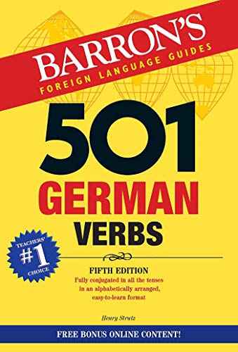 501 German Verbs (501 Verbs Series) von Barron'S