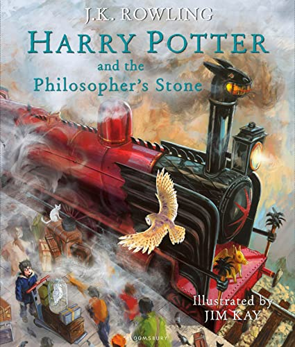 Harry Potter and the Philosopher's Stone. Illustrated Edition (Harry Potter Illustrated Edtn, Band 1) von Bloomsbury UK