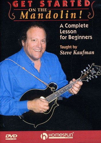 Get started on the Mandolin! - A Complete Lesson for Beginners taught by Steve Kaufman von Bosworth Music GmbH