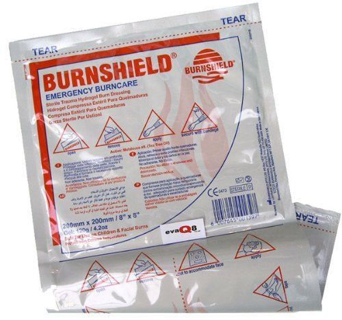 Burnshield Burn Dressing 20cm x 20cm by Burnshield von Burnshield