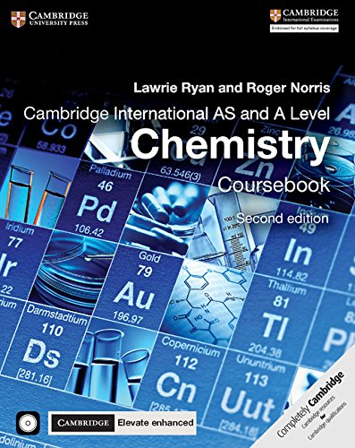 Cambridge International AS and A Level Chemistry Coursebook with CD-ROM and Cambridge Elevate Enhanced Edition (2 Years) von Cambridge University Press