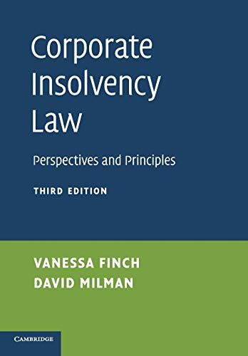 Corporate Insolvency Law: Perspectives and Principles von Cambridge University Press