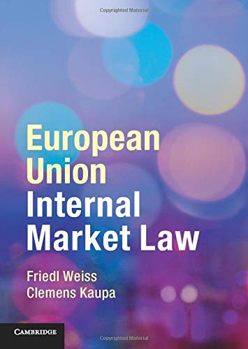 European Union Internal Market Law von Cambridge University Press