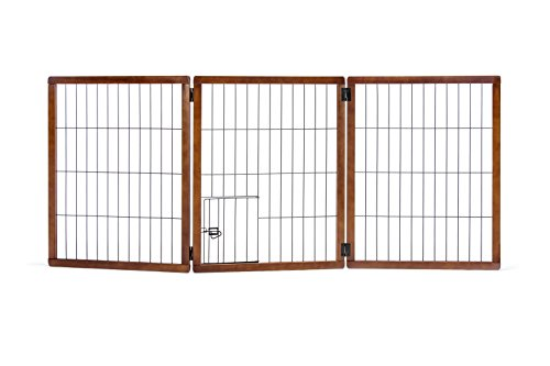 Carlson Pet Products 2866 DS Design Paw Extra Hoch 3 Panel Holz Gate von Carlson Pet Products