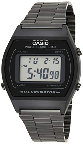 Casio Collection Unisex Retro Armbanduhr B640WB-1AEF von Casio