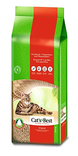 Cat's Best Original Katzenstreu, 40 Liter von Cat's Best
