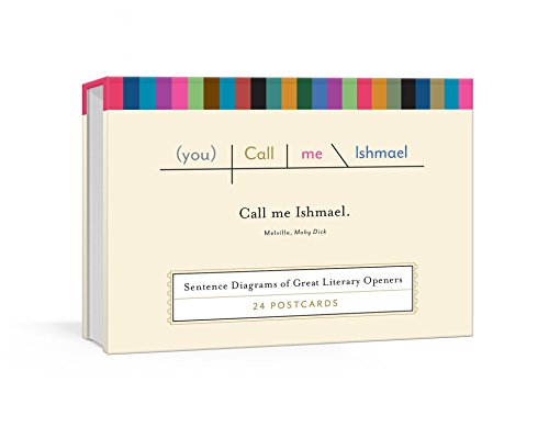 Call Me Ishmael Postcards: Sentence Diagrams of Great Literary Quotes (Pop Chart Lab) von Random House LCC US