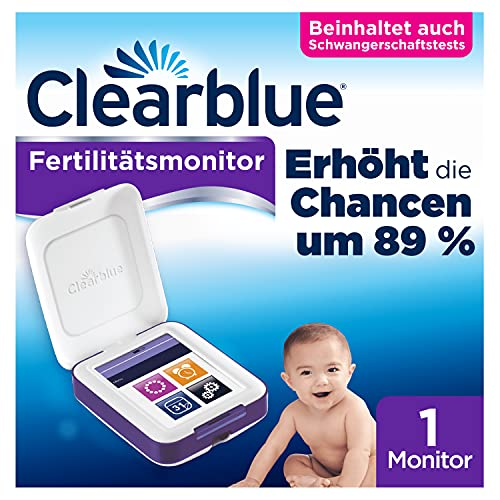 Clearblue Fertilitätsmonitor Advanced, 1 Touchscreen-Monitor von Clearblue