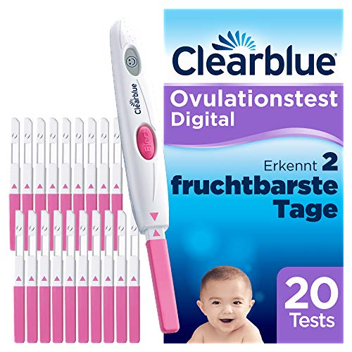 Clearblue Ovulationstest Digital, 20 Tests von Clearblue