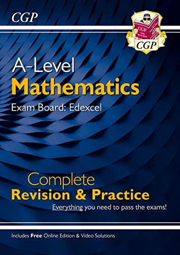 New A-Level Maths for Edexcel: Year 1 & 2 Complete Revision & Practice with Online Edition von Coordination Group Publications Ltd (CGP)