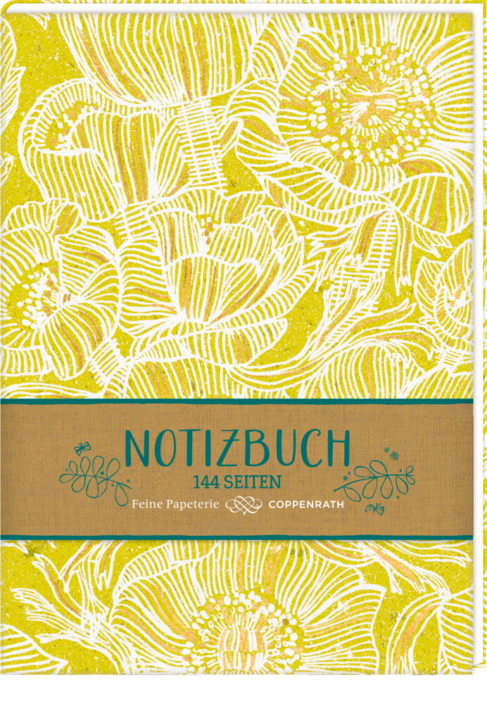 Notizbuch - All about yellow von Coppenrath F