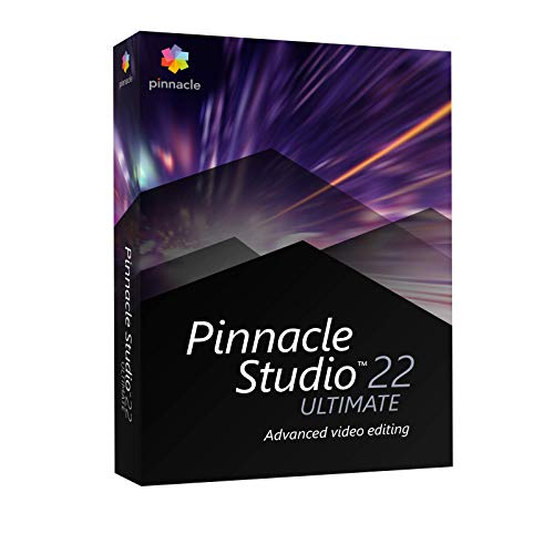Pinnacle Studio 22 Ultimate, Deutsch von Corel