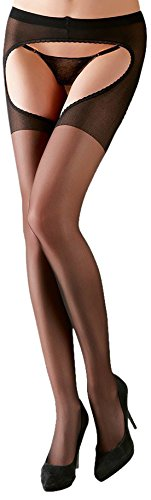 Cottelli Collection Strumpfhose ouvert S/M von Cottelli Collection
