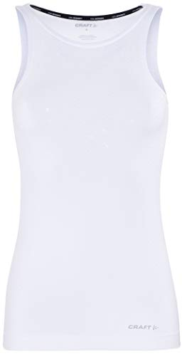 Craft Damen COOL Intensity Singlet W Unterhemd, White, S von Craft
