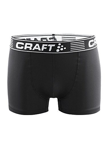 Craft Herren Greatness Boxer 3-INCH 2-Pack M Unterhose, Black, S von Craft