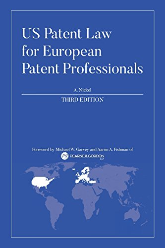 US Patent Law for European Patent Professionals: Third Edition von CreateSpace Independent Publishing Platform