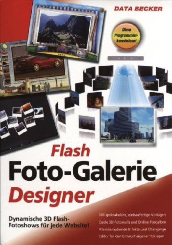 Flash Foto-Galerie Designer von Data Becker